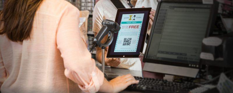Сканирование штрих-кодов в розничной торговле