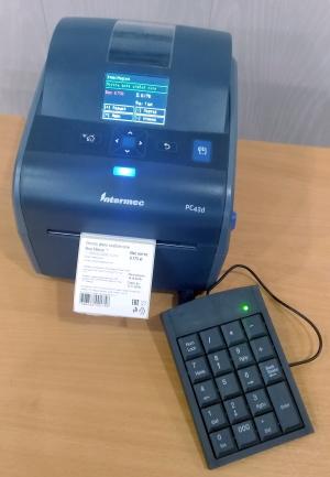 Весы-принтер-клавиатура