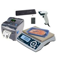 Автономный комплекс Весы-принтер